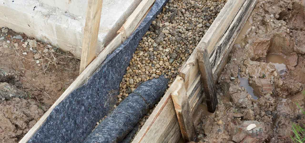 French Drain Installation in Houston