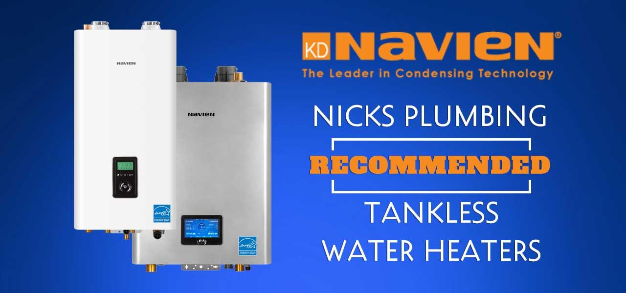 """"""">Navien Tankless Water Heaters in Houston"""""""