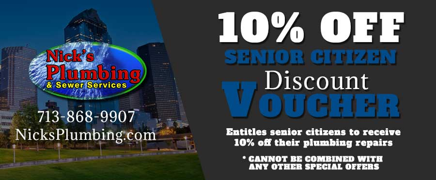 10% OFF Senior Citizen Discount