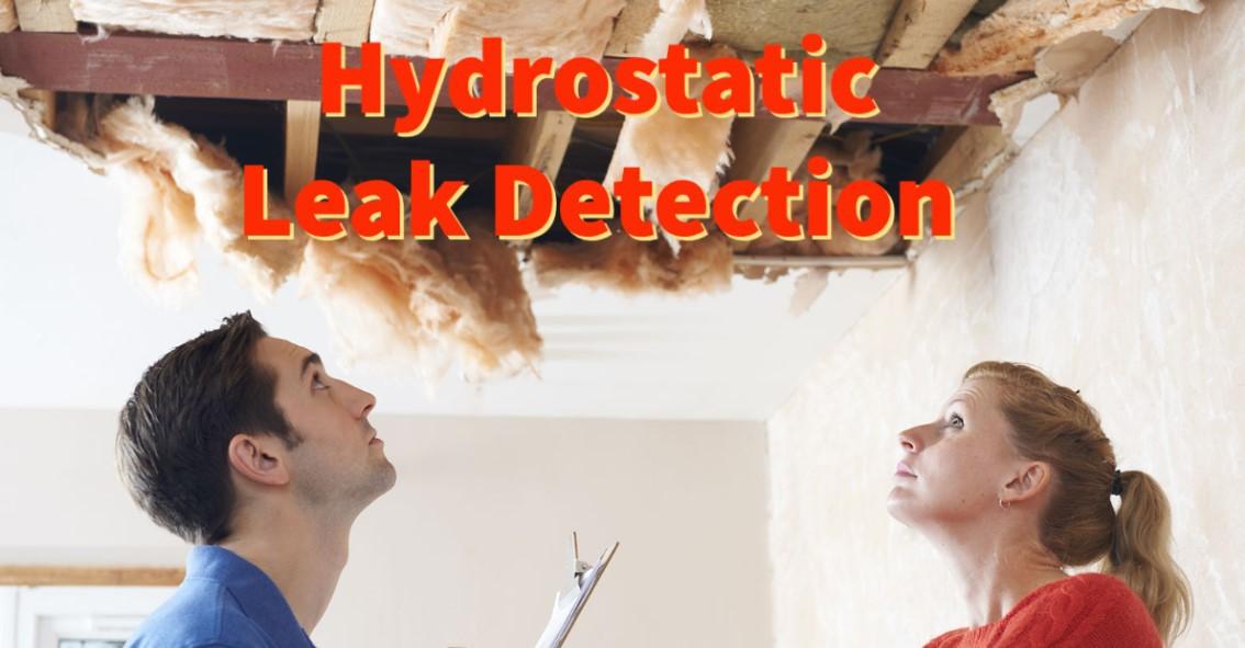 Hydrostatic leak detection