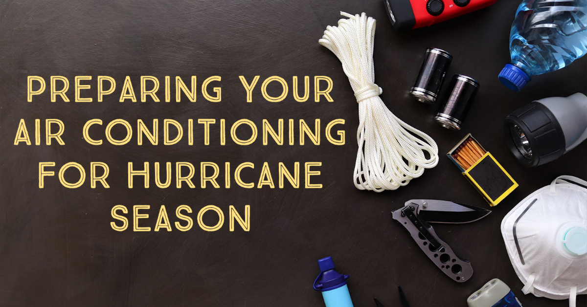 preparing ac for hurricane season