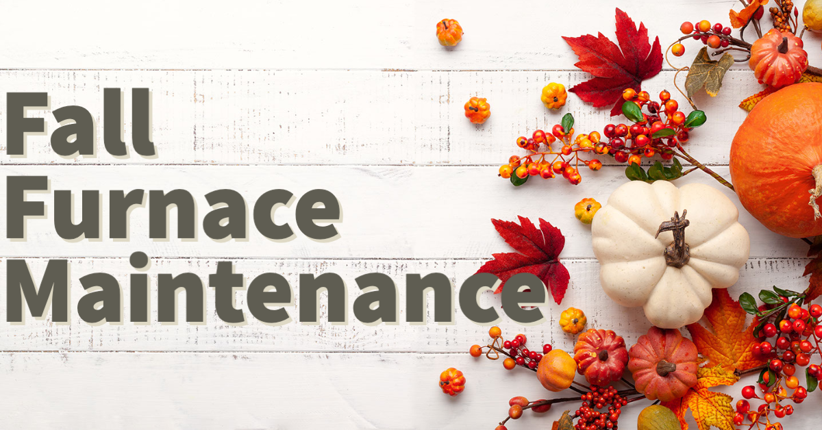 DIY fall furnace maintenance