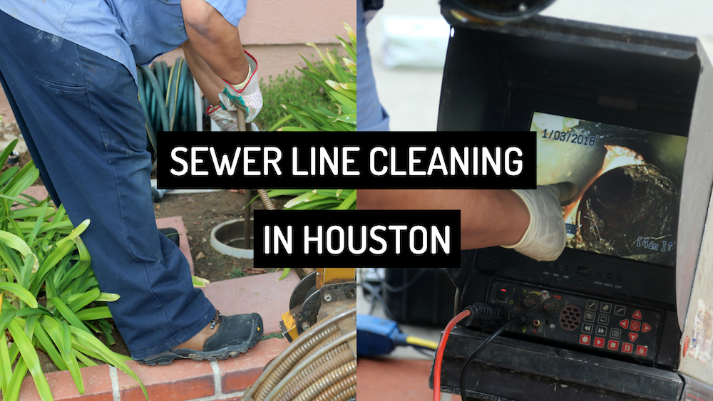 Sewer Line Cleaning in Houston